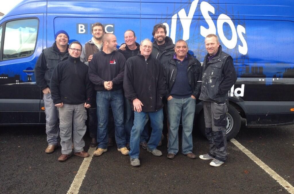 Morespace support father of 2 with DIY SOS