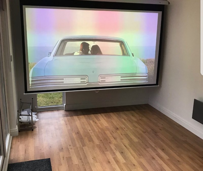 Garden Cinema Room – March 2018